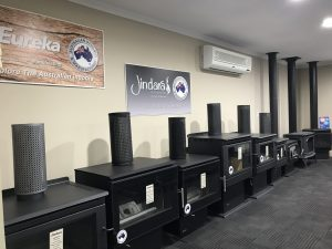 Jindara & Eureka Wood Heaters in Adelaide