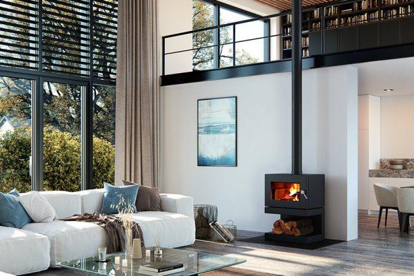 blaze b600 freestanding wood heater2