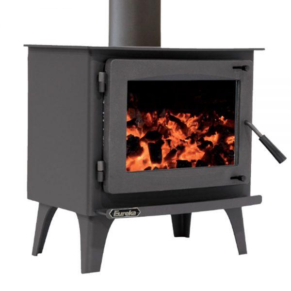 eureka amber freestanding wood heater