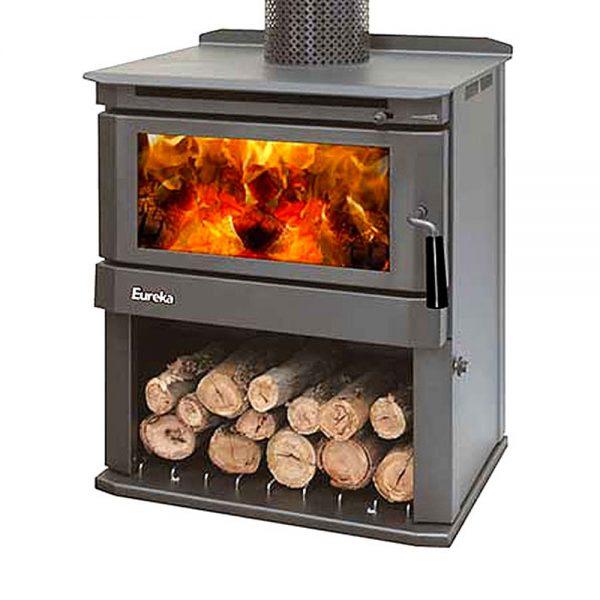 eureka woodstock freestanding wood heater