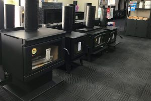 Display of Wood Fire Heaters in Adelaide