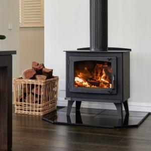 jindara gawler freestanding wood heater