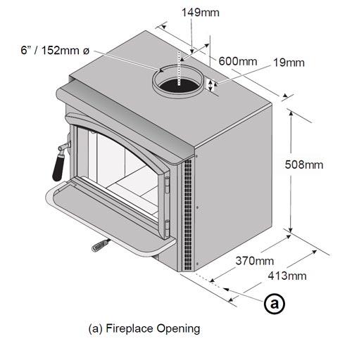 lopi answer 2020 inbuilt wood heater 3