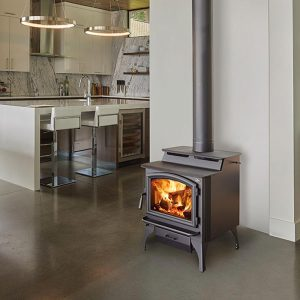 Adelaide Design Modern Wood Heater Freestanding