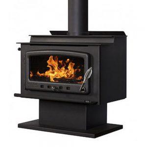 nectre_mk1_pedestal_freestanding_wood_heater