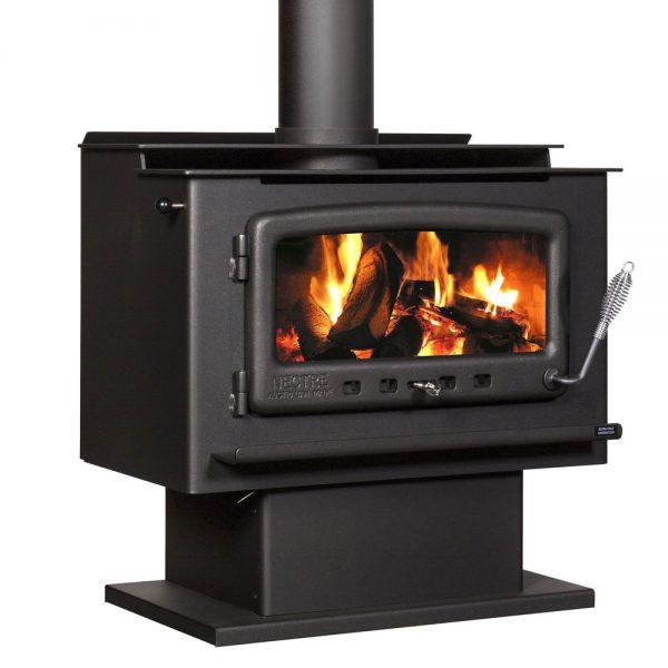 nectre_mk2_pedestal_freestanding_wood_heater