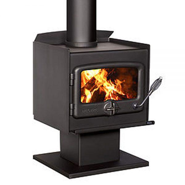 nectre_n15_pedistal_freestanding_wood_heater