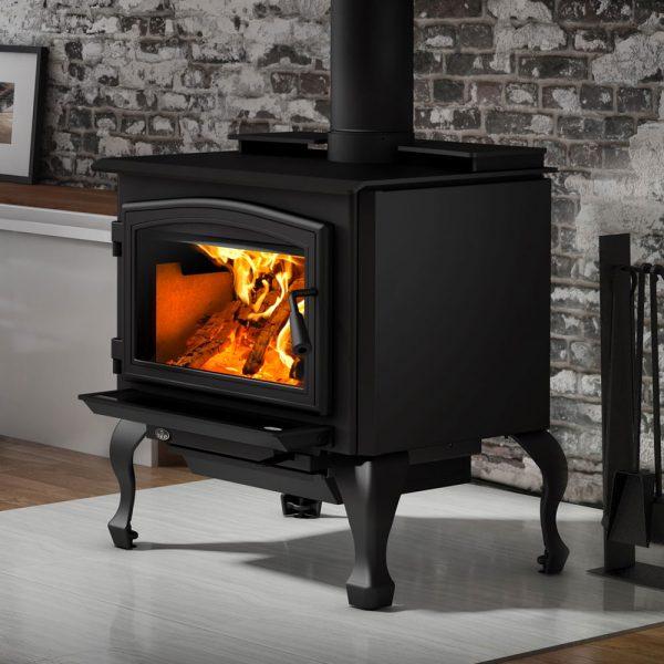Osburn All Black Wood Heater Adelaide