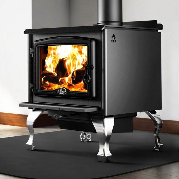 Osburn Silver Details 2300 Freestanding Wood Heater Adelaide