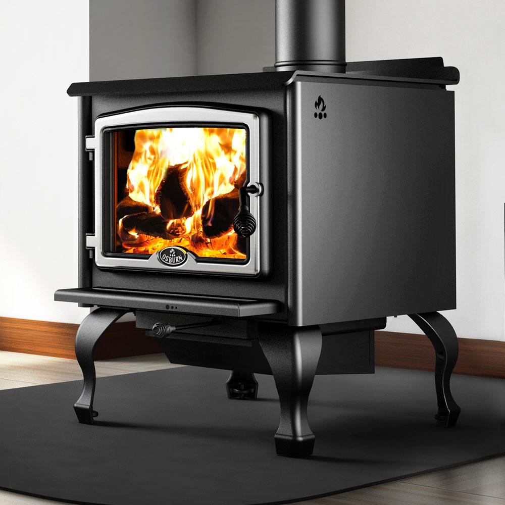 Osburn Silver Feature 2300 Freestanding Wood Heater Adelaide
