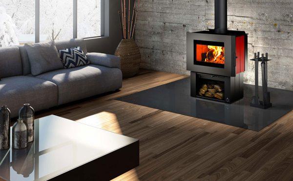 Osburn Soho Modern Freestanding Wood Heater Adelaide