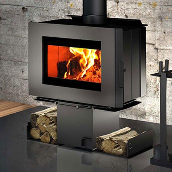 Closeup Osburn Freestanding Wood Heater Adelaide