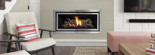 Regency Silver Modern Simple Gas Fireplace Adelaide