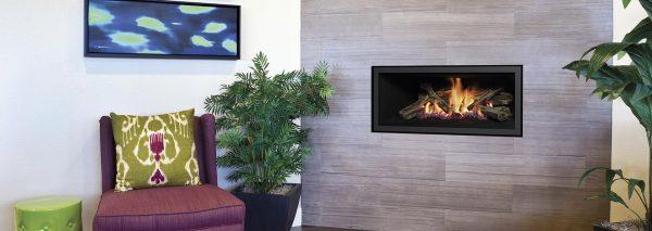 Regency Built In Wall Modern Fireplace Adelaide